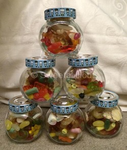 Birthday Sweet Jars (Plain)
