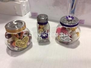 Christmas Glass Jar Sweets