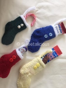 Knitted Christmas Boots