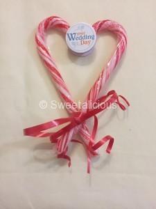 Wedding Candy Canes