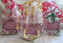 Wedding Candy Canes Name Place Setting