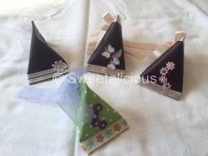 Wedding Triangular Favours