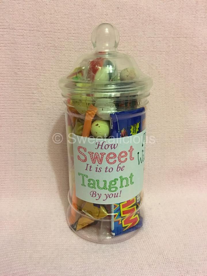 Teacher's Personalised Sweet Jar