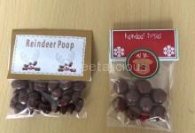 Reindeer Poop and Noses