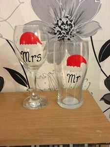 Christmas Mr and Mrs