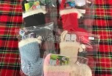 Christmas Tree Knitted Children's Stockings